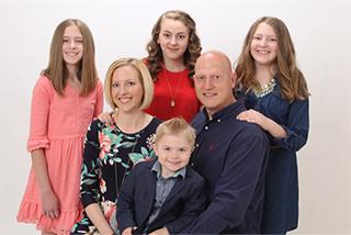 Ken Baker family